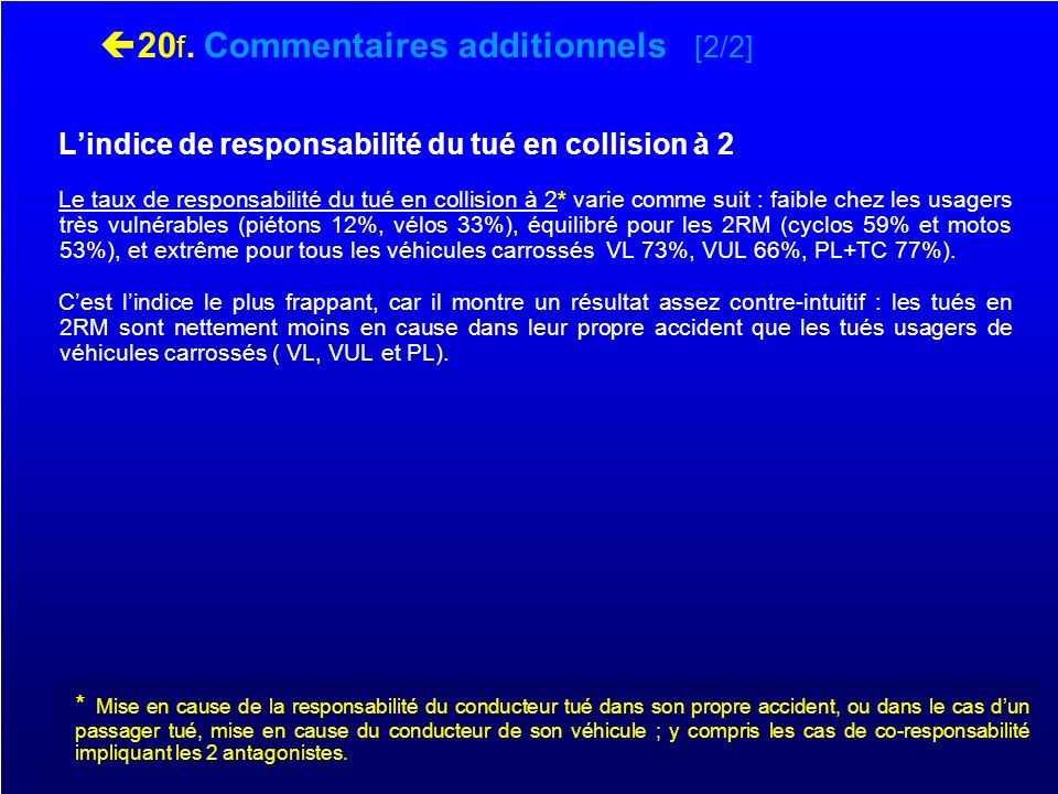 20f. Commentaires additionnels [2/2]